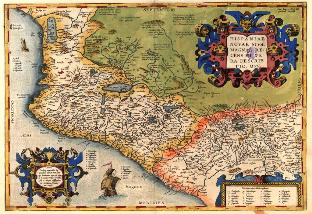 8 reales. México. Felipe II. Ensayador F… y un mapa Mapa_p10