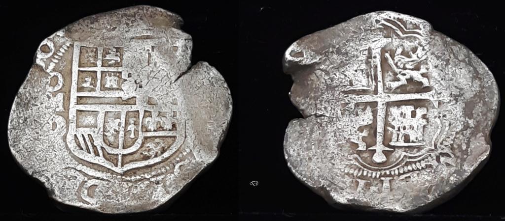 8 reales. México. Felipe III - 1620. Ensayador D Mnd4l10