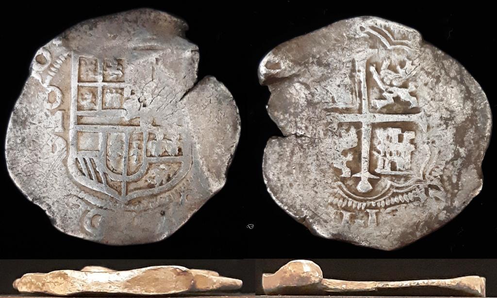 8 reales. México. Felipe III - 1620. Ensayador D Mnd510