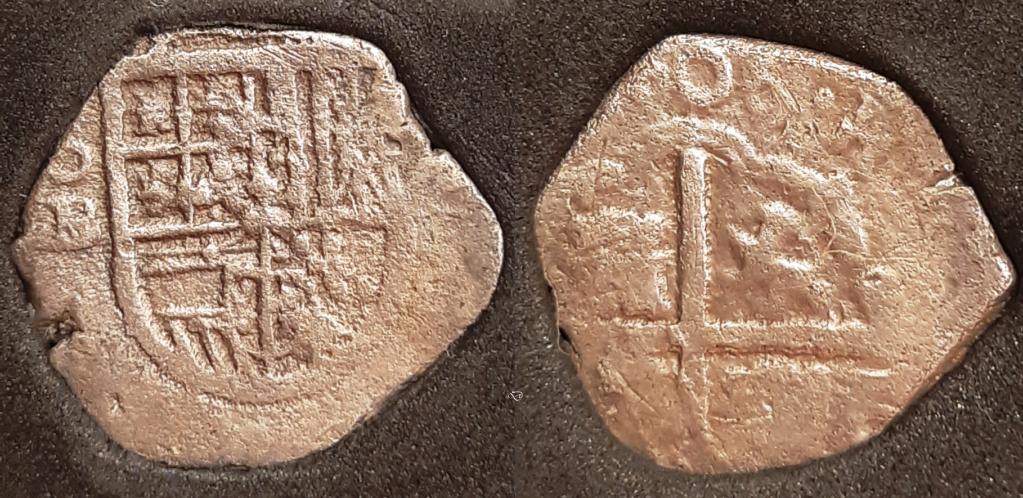 1 real. Sevilla. Felipe III- 1606??? - Ensayador B Moneda10