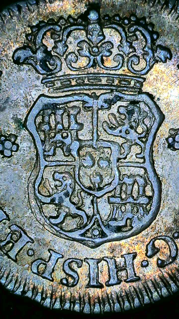 ½ real columnario, 1755, Lima… variante en ensayador(JM/JD) Snap_015