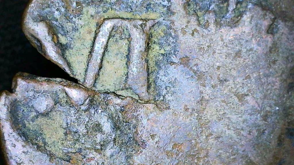Ochavo de Felipe II, La Coruña – Resellado por Felipe III y IV Snap_111