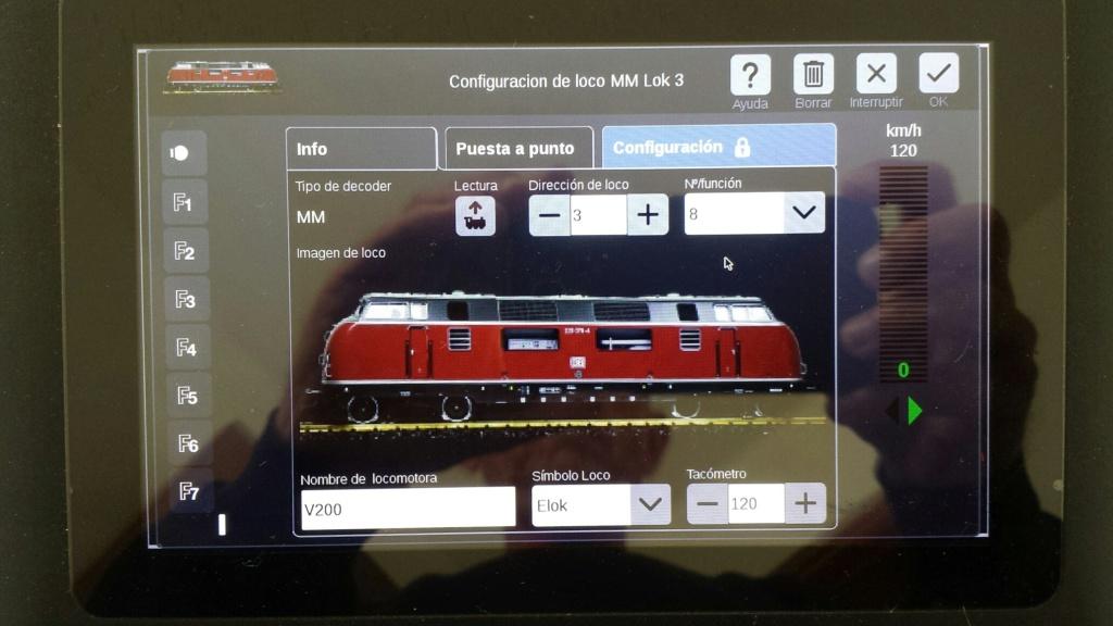 Problemas de la CS3 Plus para reconocer una locomotora  20200610