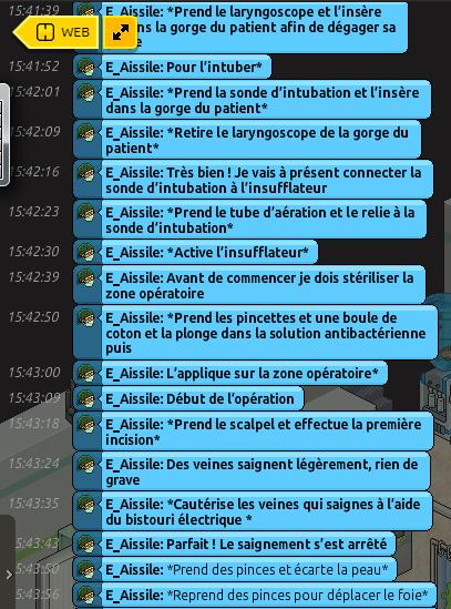 [C.H.U] Rapports d'actions RP de E_Aissile Opzora10