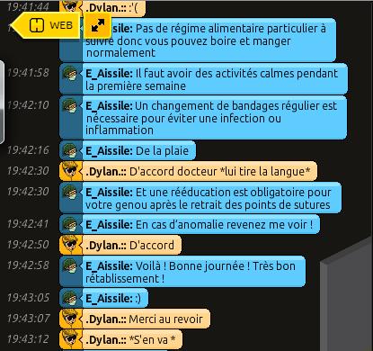 [C.H.U] Rapports d'actions RP de E_Aissile Ra_1011