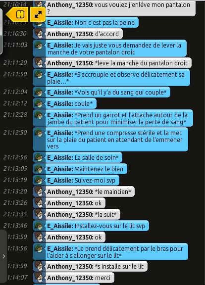 [C.H.U] Rapports d'actions RP de E_Aissile Ra_216