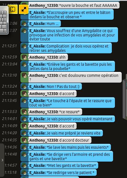 [C.H.U] Rapports d'actions RP de E_Aissile Ra_314