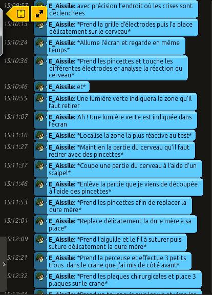 [C.H.U] Rapports d'actions RP de E_Aissile Ra_513