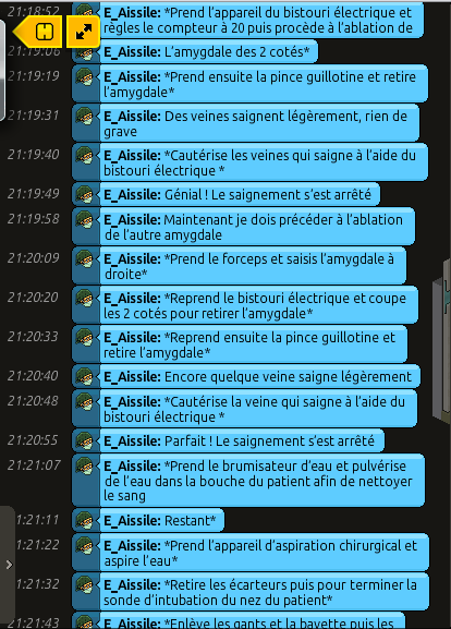 [C.H.U] Rapports d'actions RP de E_Aissile Ra_514
