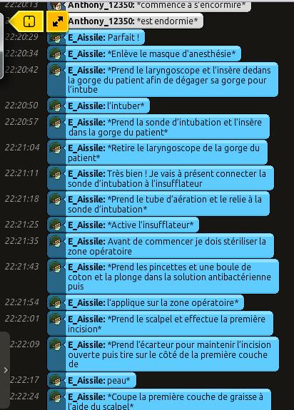 [C.H.U] Rapports d'actions RP de E_Aissile Ra_515