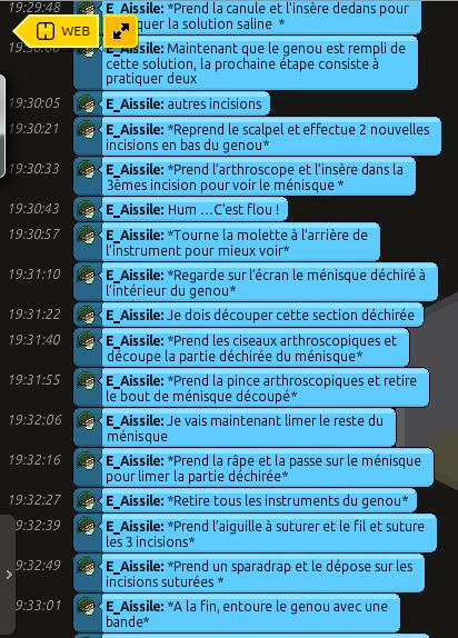 [C.H.U] Rapports d'actions RP de E_Aissile Ra_711