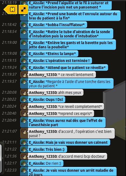 [C.H.U] Rapports d'actions RP de E_Aissile Rappor17