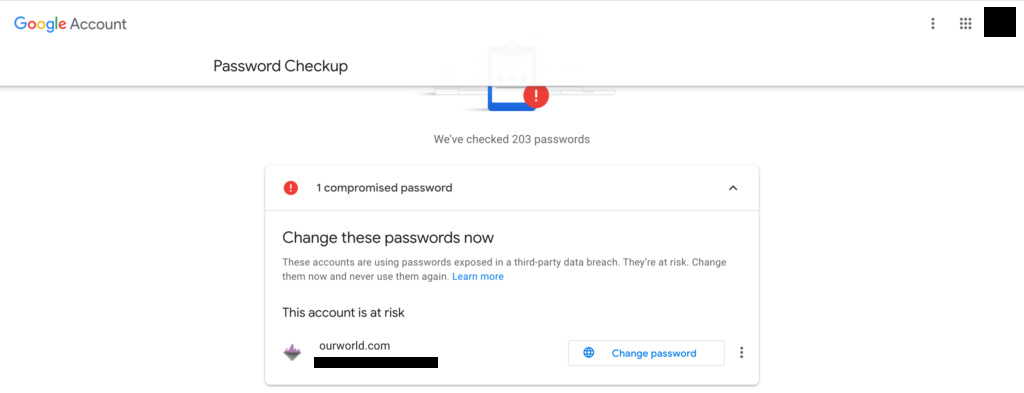 Check your Password Screen10