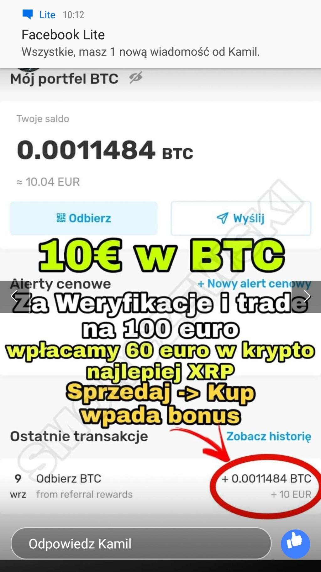 Kriptomat 10€ Screen11