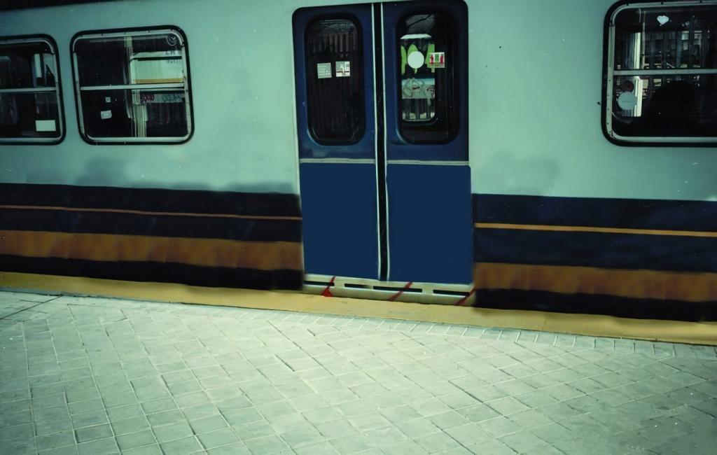 Metro Madrid Photos recuperation serie Models 300  13210