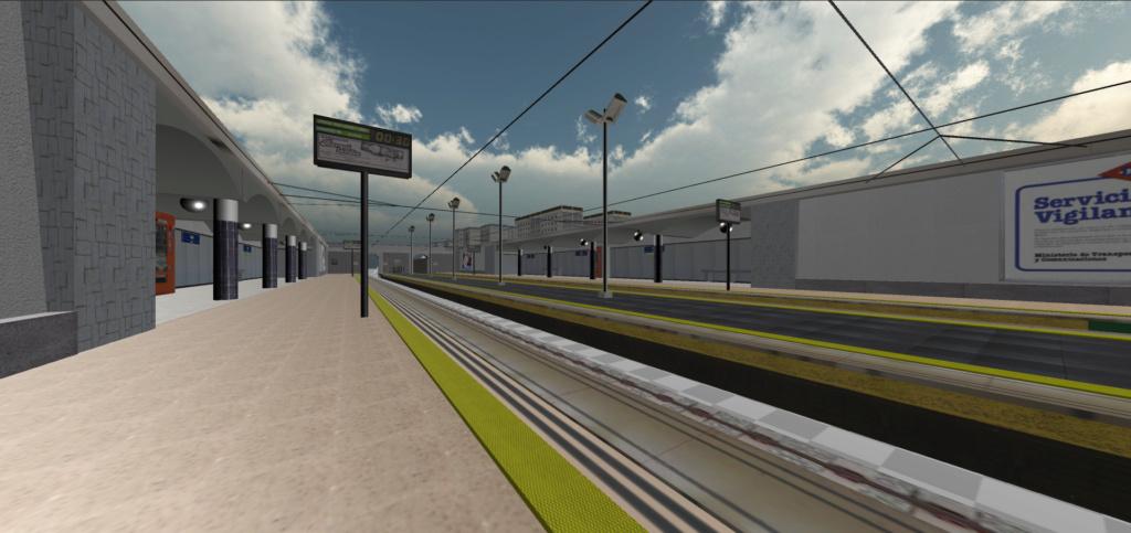 Real Virtual (Metro Madrid) Station Captur10