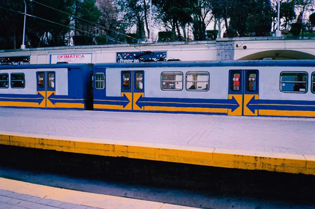 Metro Madrid Photos recuperation serie Models 300  Lago_110