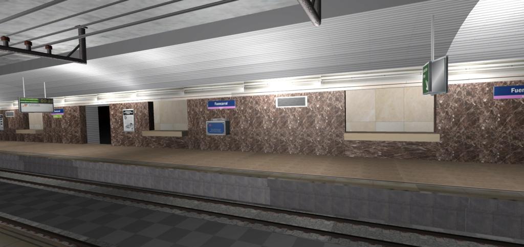 Real Virtual (Metro Madrid) Station Line_815