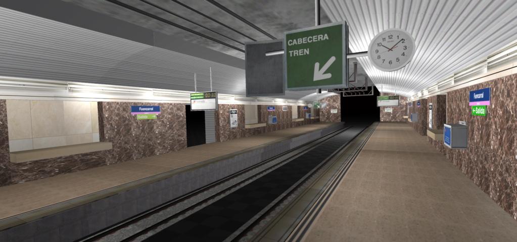 Real Virtual (Metro Madrid) Station Line_817