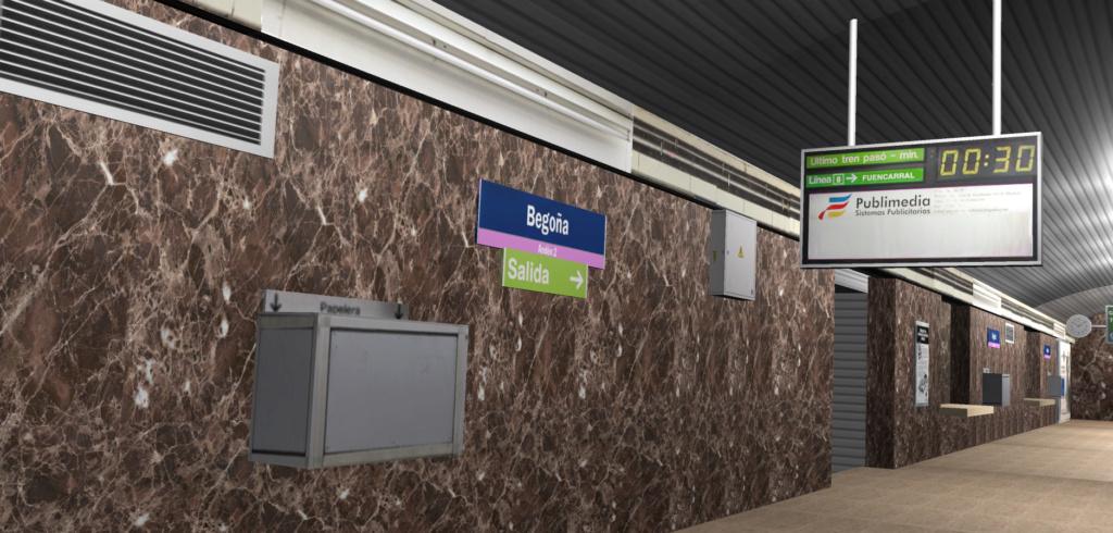 Real Virtual (Metro Madrid) Station Line_818