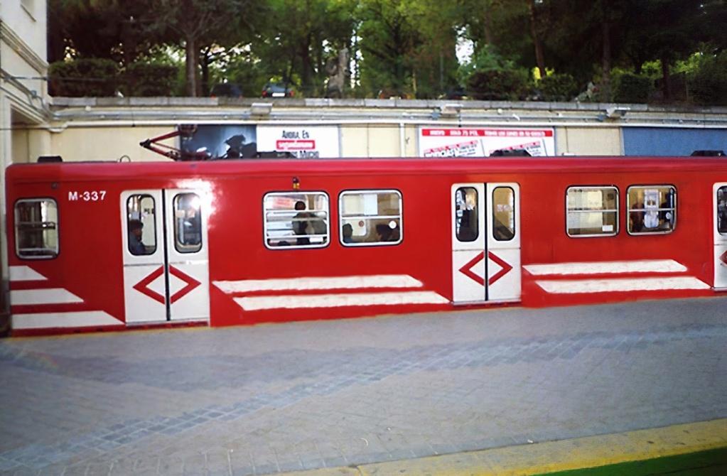 Metro Madrid Photos recuperation serie Models 300  Metro311