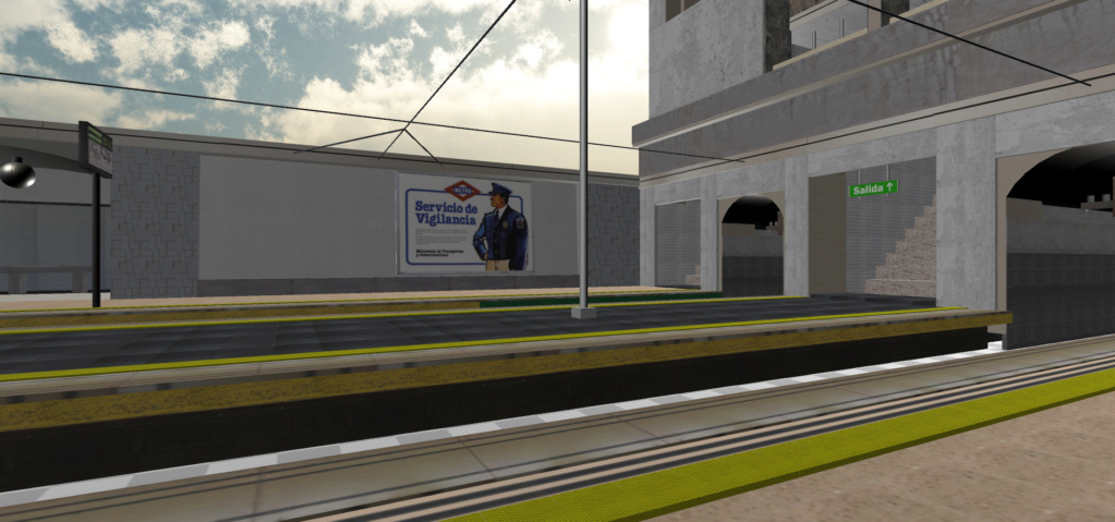 Real Virtual (Metro Madrid) Station Qssw_110