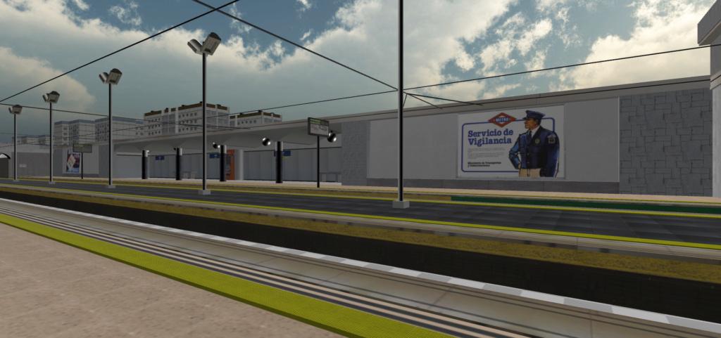 Real Virtual (Metro Madrid) Station Qssw_112