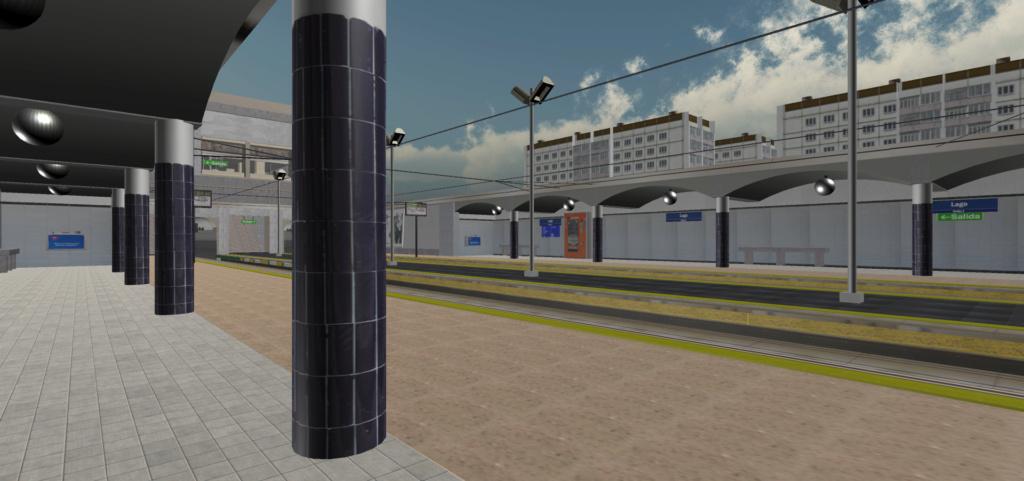 Real Virtual (Metro Madrid) Station Qssw_113