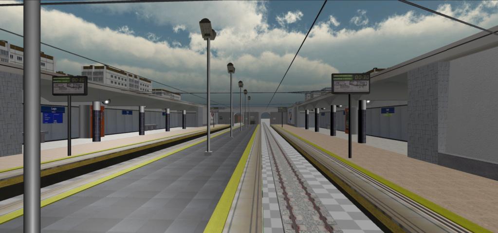 Real Virtual (Metro Madrid) Station Qssw_114