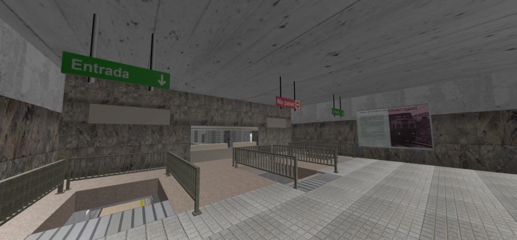 Real Virtual (Metro Madrid) Station Qssw_510