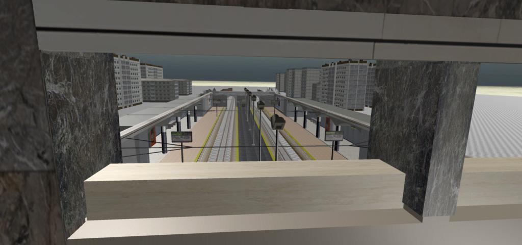 Real Virtual (Metro Madrid) Station Qssw_610