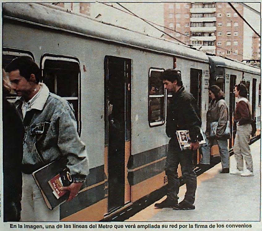 Metro Madrid Photos recuperation serie Models 300  Series10