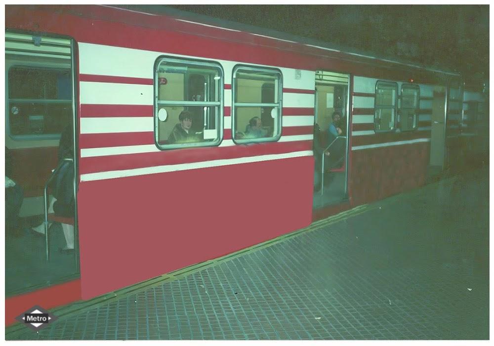Metro Madrid Photos recuperation serie Models 300  Unamme10