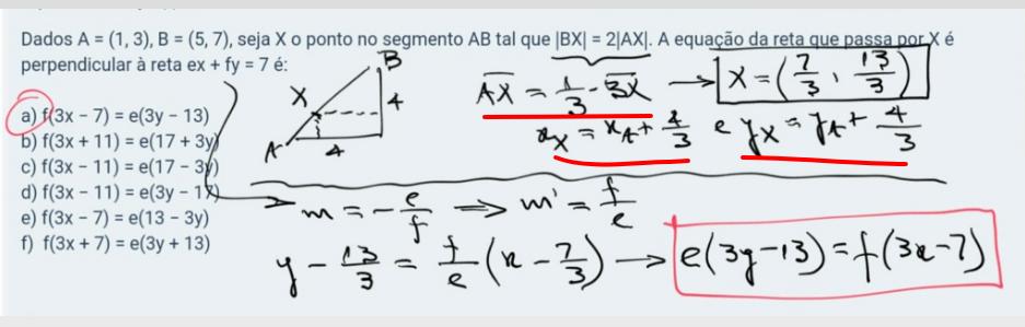 Equação da Reta Imagem13