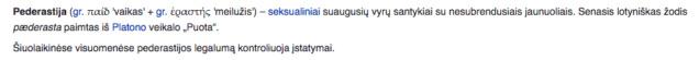 """Ar skiriasi pederastas ir gėjus? Valstybinė lietuvių kalbos komisija įžeidaus žodžio """"pederastas"""" pobūdžio neįžvelgia (video) Screen20"""