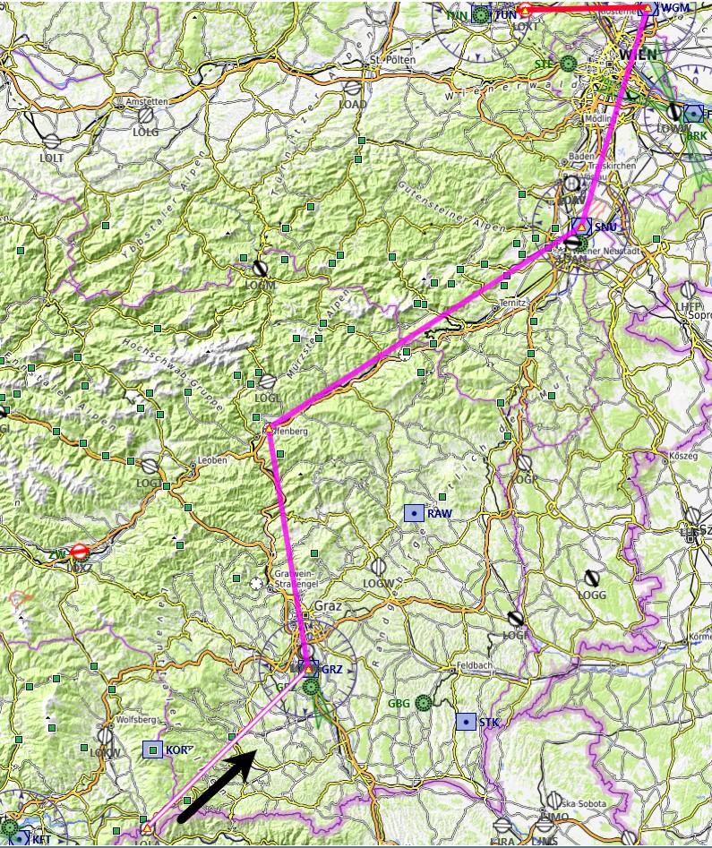 Les Alpes étape 14 Carte10