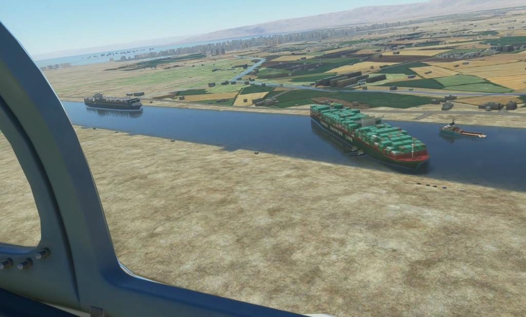 Embouteillage de Suez Cccc10