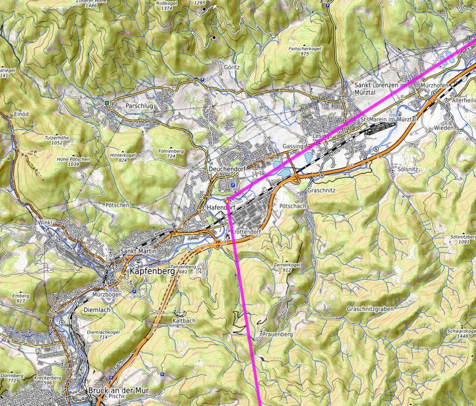 Les Alpes étape 14 Hafend10