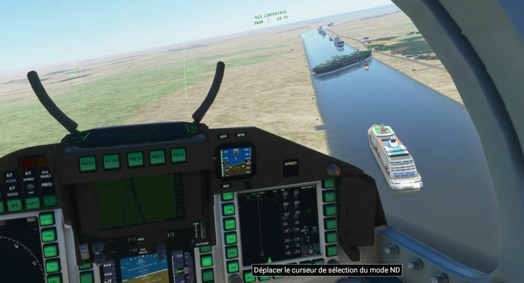 Embouteillage de Suez Xx10