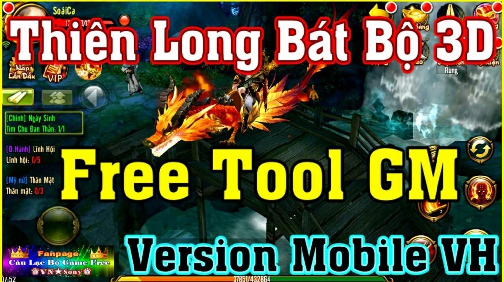Thiên Long Bát Bộ 3D - Free Tool GM - Full Việt Hóa Rv1910