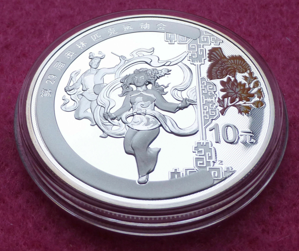 1oz Silver proof 2008 Beijing Olympic coins S-l16012