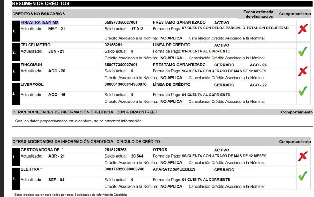 Deuda con FINASTRATEGY MX Buro_210