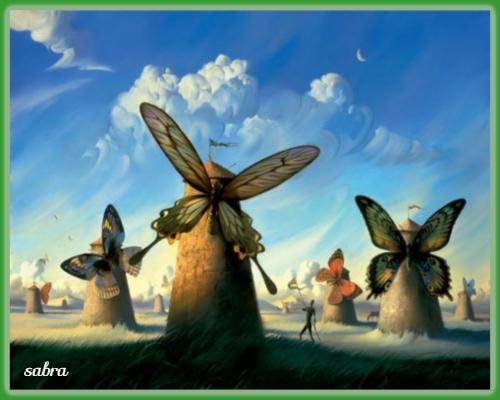 """""""Fauna en la Mancha"""". Vladimir Kush Vladim10"""