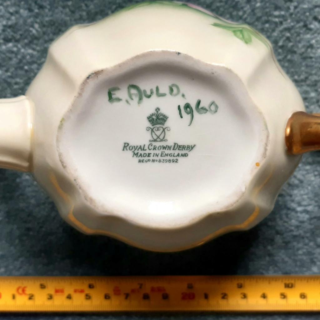 """E. Auld 1960"" - Royal Crown Derby 20211016"