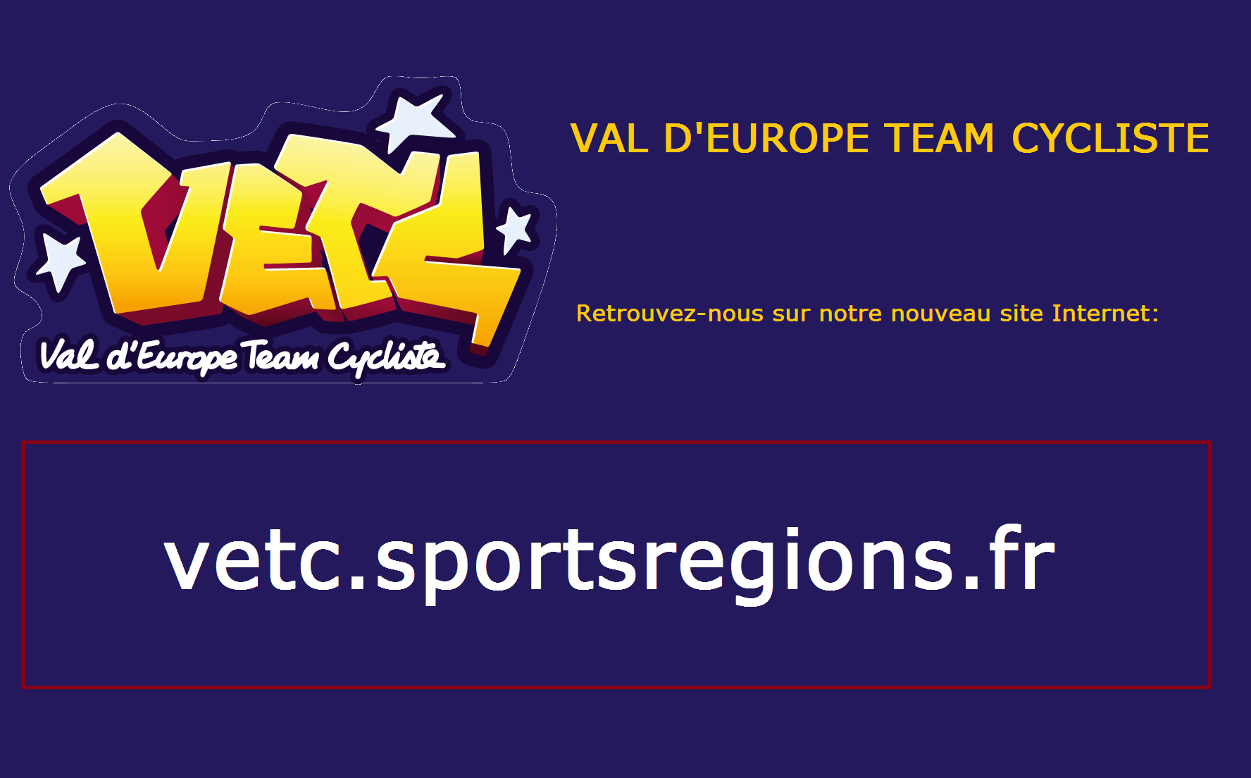 VAL D' EUROPE TEAM CYCLISTE