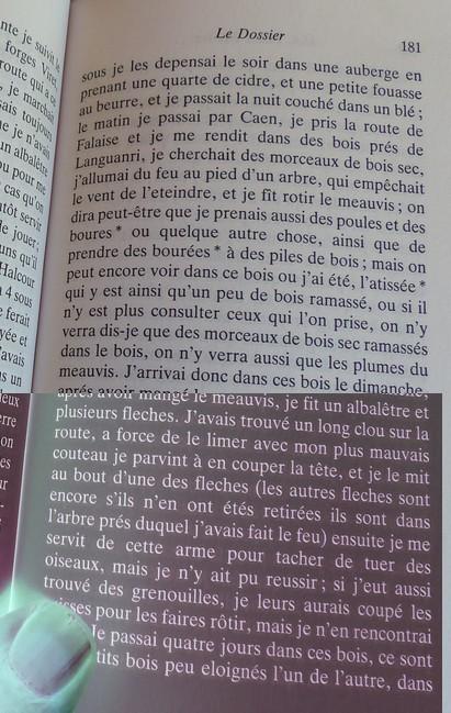 """""""Moi, Pierre Rivière, ayant égorgé ma mère , ma soeur et mon frère ..."""" Albale12"""