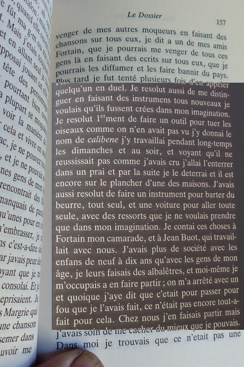 """""""Moi, Pierre Rivière, ayant égorgé ma mère , ma soeur et mon frère ..."""" Calibe11"""