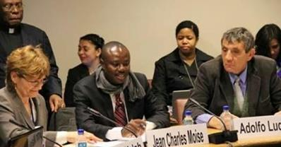 Discours du sénateur Moise Jean Charles à l'ONU Moise10