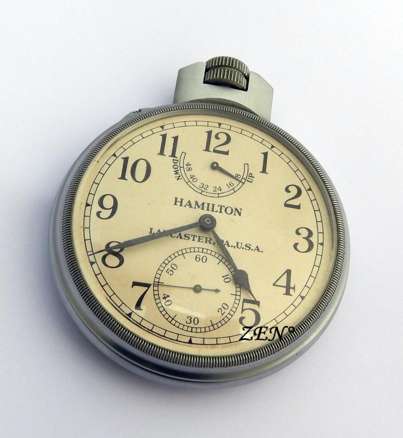 Chronomètres de bord , Chronomètres de vitrine  Hamilt10