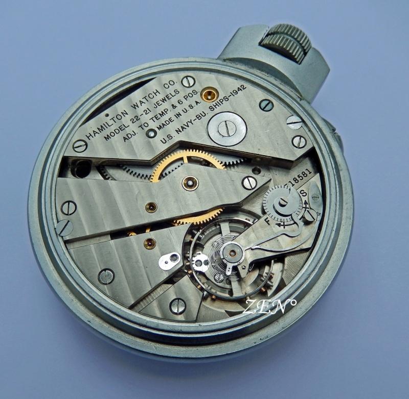 Chronomètres de bord , Chronomètres de vitrine  Hamilt11